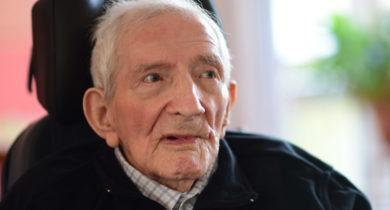 IG Metall beglückwünscht 100 jährigen Rudolf Fuhrmann