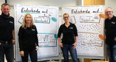 Erfolgreiches GEP-Projekt bei Hülsta