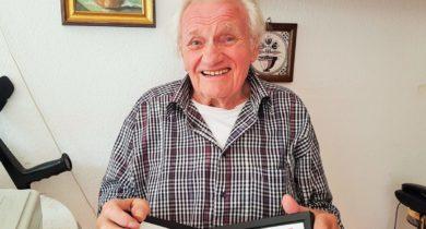 Josef van Kisfeld aus Vreden für 70 Jahre IG Metall geehrt