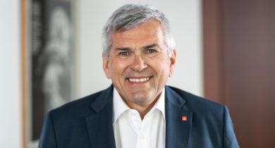 Jörg Hofmann, Erster Vorsitzender der IG Metall zu Besuch in Bocholt
