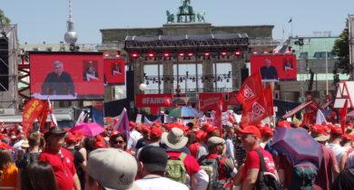 Über 50.000 Demonstranten setzen Zeichen für eine gerechte Transformation