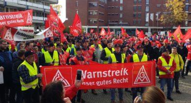 Tarifkommission beschließt Warnstreiks im Schlosserhandwerk