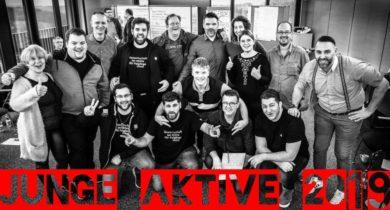 Junge Aktive – auch bei uns in der Geschäftsstelle